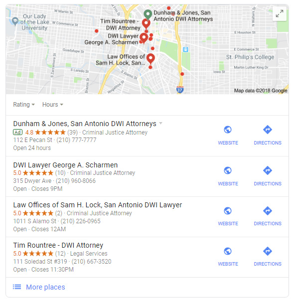 ION Results Marketing - Google Maps SEO